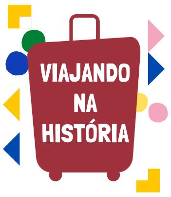 Logomarca do Viajando na História