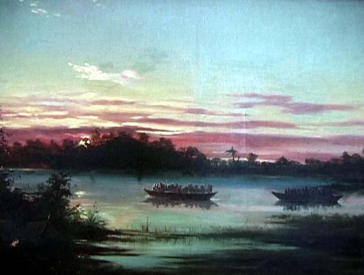 Canoas em Vigília no Chaco