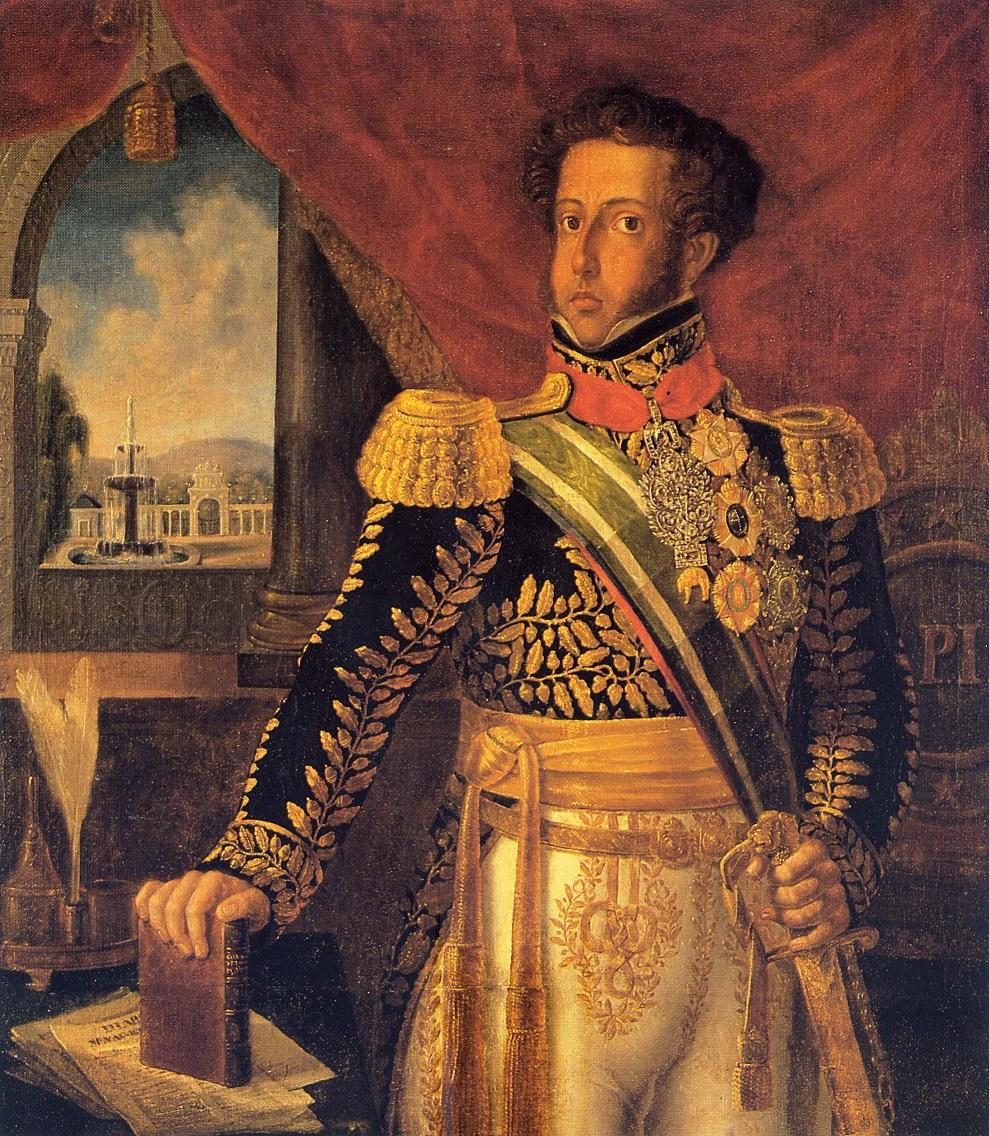 Retrato de d.Pedro I na exposição de longa duração do MHN