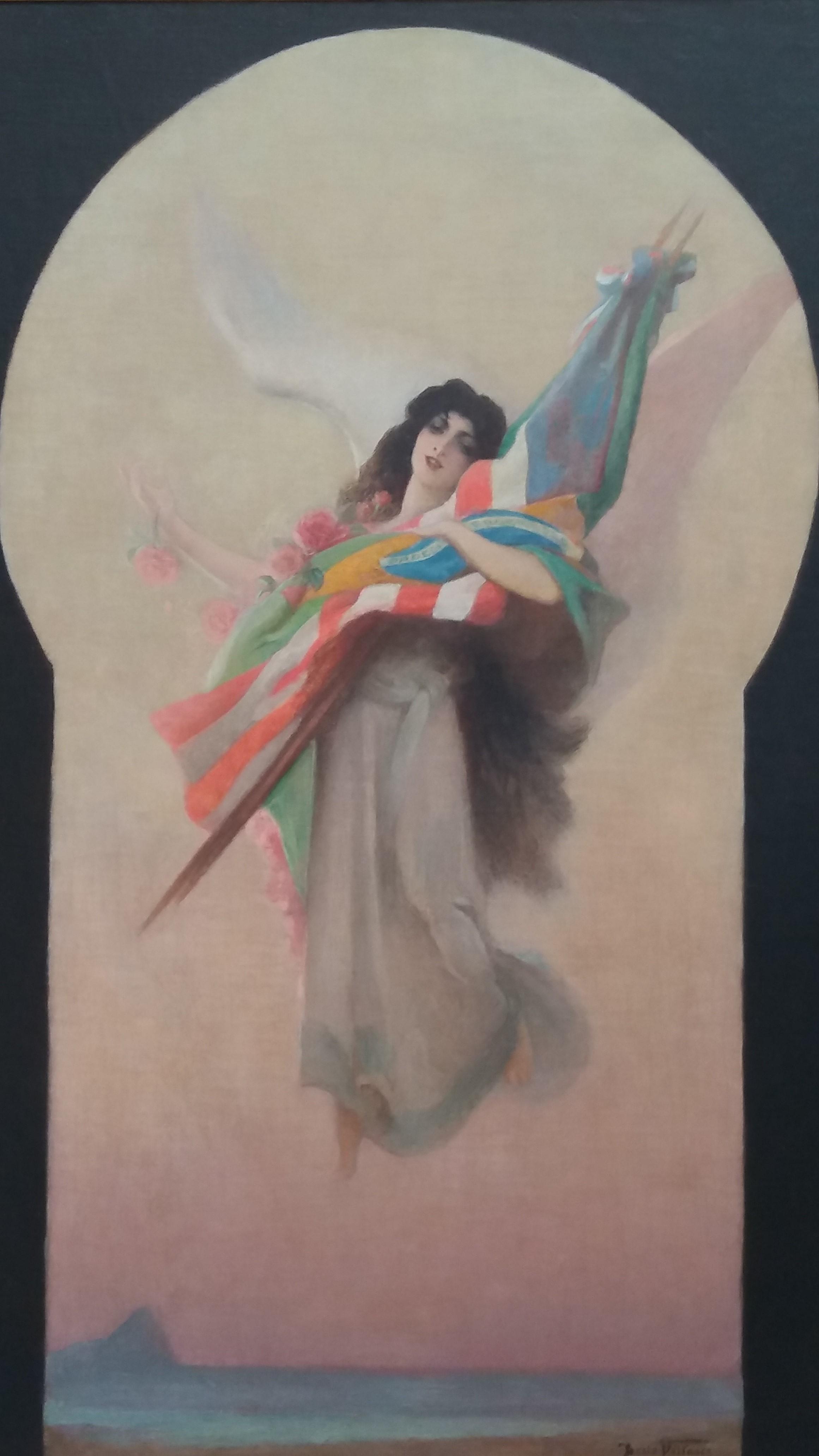 Tela de Décio Villares faz alegoria à Exposição Internacional de 1922