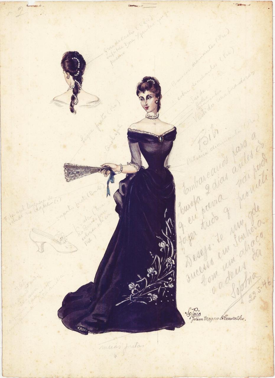 Coleção Figurinos Teatrais Sophia Jobim