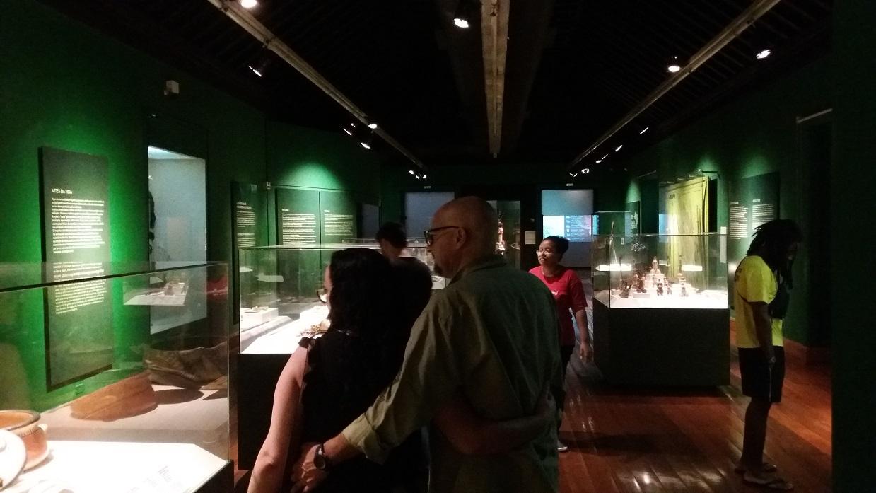"""Visita mediada ao módulo """"Oreretama"""" da exposição de longa duração do MHN"""