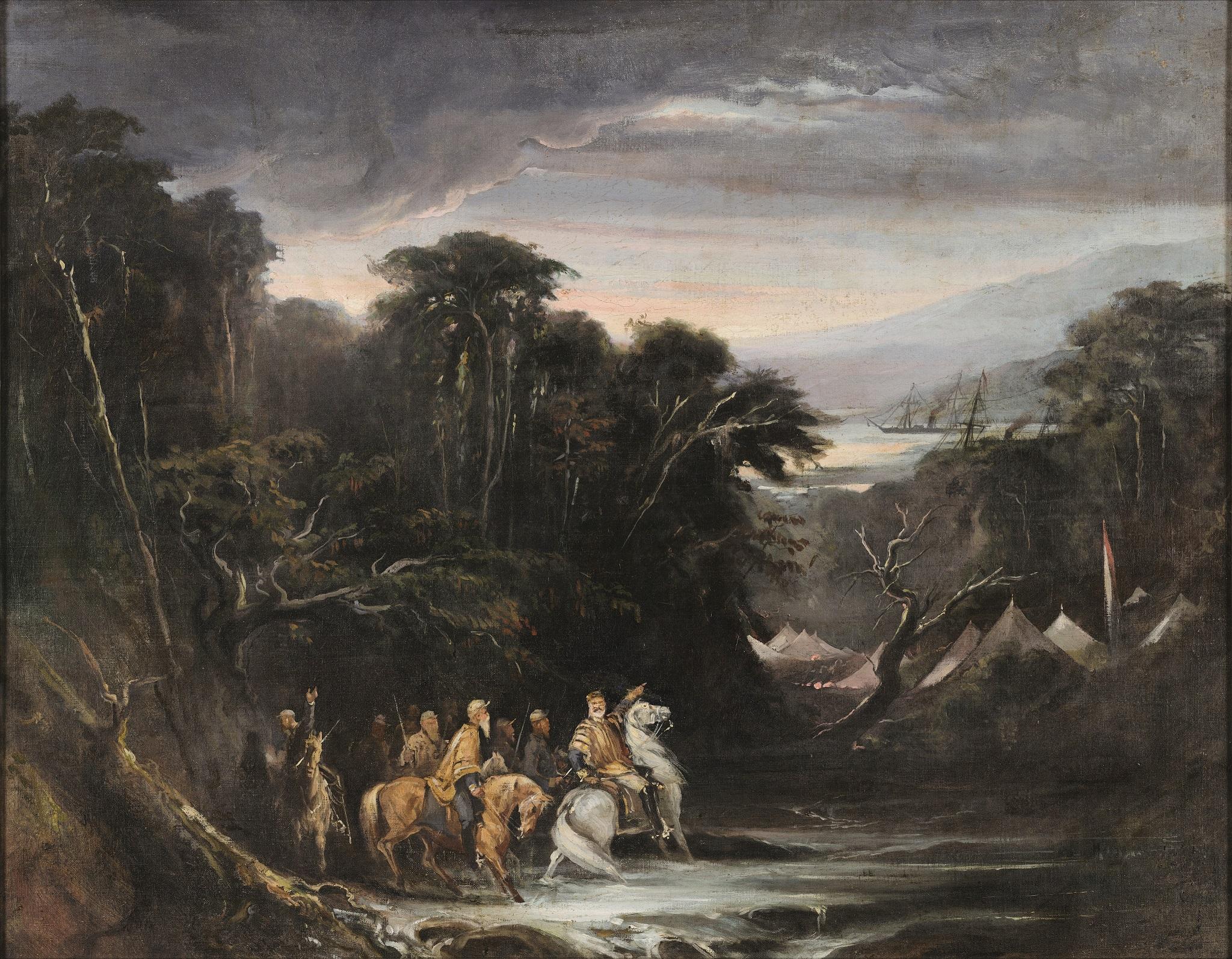 "Pinturas históricas: o estudo ""Pasagem do Chaco"" (1871) de Pedro Américo"