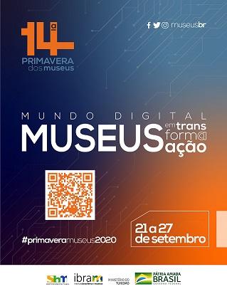 Cartaz da edição 2020 da Primavera dos Museus