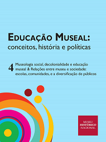 Capa do novo volume da coleção de livros digitais acessíveis do MHN